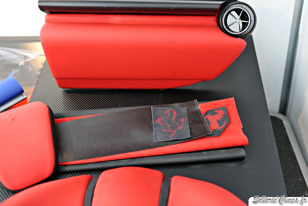 Ferrari LaFerrari - seats and interior development 003