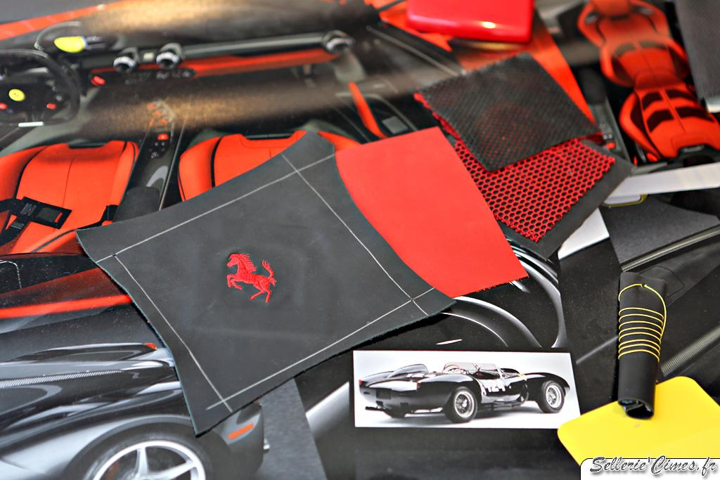 Ferrari LaFerrari - seats and interior development 005