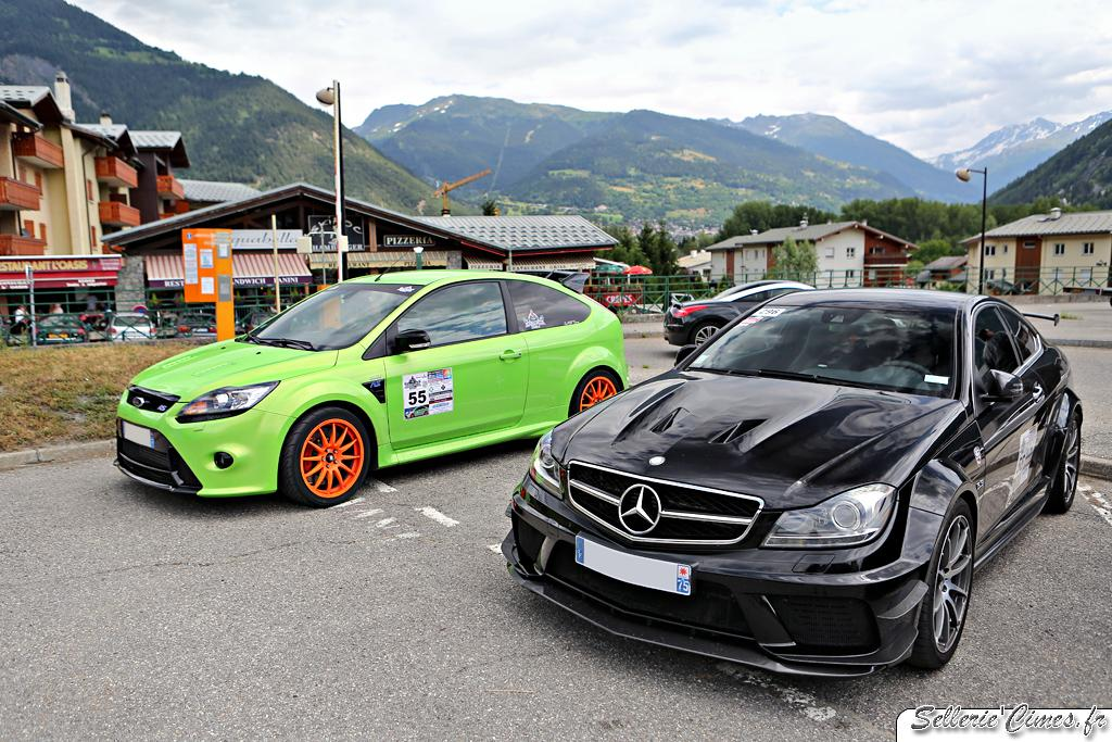 Mercedes C63 AMG Black Series, Ford Focus RS
